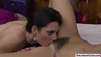 Lesbian Mindi Mink loves licking pussy
