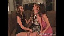 Charlie Lane in a Lesbian Threesome - Lesbian sex video