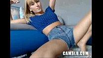 Fantastik teen blond dildos her slut for our pleasure preview image