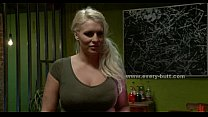 Blonde busty slut fucked by dirty master in ext...