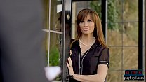 French MILF wife seduces student of her blind h...