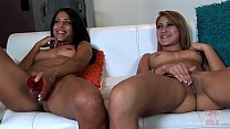 GIRLS GONE WILD - Fantastic Young Duo Eva and K...