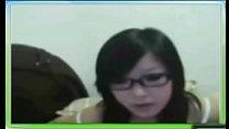 台灣黑框眼鏡妹妹大解放 失戀後找網友裸聊發洩