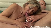 A Mature Napping Beauty In Stockings Fucked By ... Thumbnail