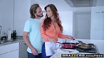 Brazzers - Mommy Got Boobs - My Three Stepsons scene starring Syren De Mer Brad Knight Lucas Frost a thumbnail