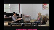 Image: FemaleAgent Big breast casting