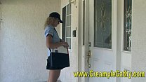 Creampie Delivery For MILF thumbnail