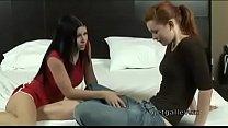 Sweet Lesbia n Student Seduced