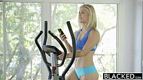 15832 BLACKED Sexy Blonde Ash Hollywood Cheats with Her BBC Trainer preview