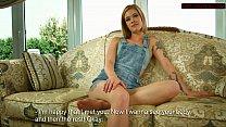 Hot teen Alexa confims virginity