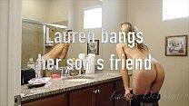 Lauren DeWynter bangs her son's friend (short version) - 9Club.Top