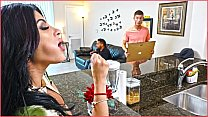 BANGBROS - Kitty Caprice Gets Her Latin Big Ass Fucked While Her BF Is Home video