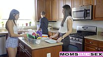 Step-Mom India Summer Caught With Teens Boyfriend thumbnail