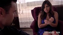 14846 TOUGHLOVEX Father Karl demolishes Ella Knox's holes preview