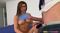 Teens Loves huge Cocks - Nerdy Leah takes a pounding Preview