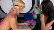 GIRLS GONE WILD - Young Teen Lesbians Body Paint and E Pussy - 9Club.Top