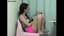 Free download video bokep Japanese Petit Teen Masturbating while reading a pornographic book