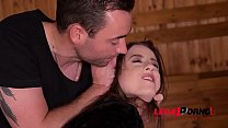 Submissive BDSM vixen Gabriella Lati spanked, tied up & fucked real hard GP785