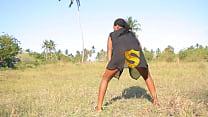[Margareth Campuzano Nude] - kanga moja baikoko mambo hadharani msambwanda mkundu mnato thumbnail