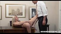 Mormon Teen Masturbates To Orgasm For Church President