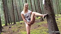 Slutty czech cutie stretches her yummy vagina to the peculiar thumbnail