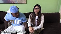 MIA KHALIFA - She's Never Tried Big Black Dick Before, So She Asks Rico Strong Preview