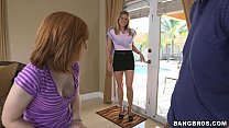 Stepmom Gets Off With Teens