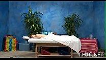 Teen sucks and bonks her massage therapist porn image