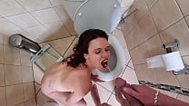 Anal Whore Swallows Cum And Pee After Getting H