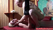 19342 Real dutch hooker sucking balls while jerking preview