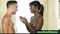 Nuru Massage slippery sex video 12