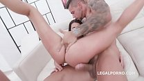 7on1 Creampie Gangbang with Nicole Black, Balls Deep Action, Big Gapes, DAP and Great Creampie GIO1192