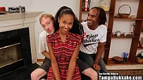 Tampa Bukakke Girls - 18yo black teen cheerleader fuckee suckee! - 69VClub.Com