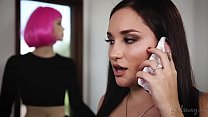 wwwcomxnxx - Gabi Paltrova and her real life sexdoll Jenna Sativa preview image