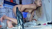 siswetlive.com *** Huge dildo anal