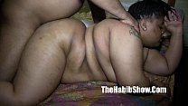 20 yr old BBW gangbanged by BBC monster dick redzilla & big popa