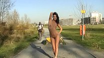 Alina Malin - Take A Photo Public Nudity Experiment porn image
