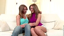 Sensual Licking by Sapphic Erotica - sensual lesbian sex scene with Misha and Re