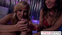 The Stripper Experience - Jessica Jaymes & Julia Ann sucking a monster cock, big boobs and big booty preview image