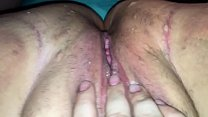 Fucking my slut wife's  tight little asshole. And she loves it.