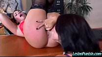 monicahotlips6969: Hot Lesbian (eva&jenna) Get Punish By Mean Lez With Sex Toys clip thumbnail