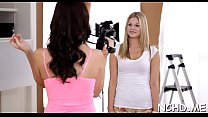 Cunning young minx Holly Michaels gets penetrated's Thumb