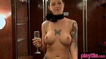 Real amateur couples try foursome at a swinger ...