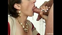 Oral Creampie Compilation 1 - OralEndeavour.com video