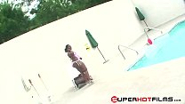 SuperHotFilms : BBW Marshae get fuck on the poolside - 9Club.Top