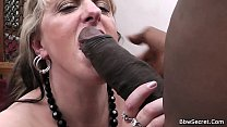 Wife leaves and he fucks blonde BBW thumb