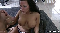 Hot German Teen With Big Tit in Amateur Fuck by Big Dick Vorschaubild