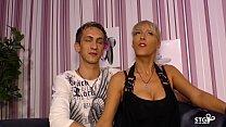 AMATEUR EURO - Sexy German MILF Lana Vegas fucks hard in raunchy sex tape