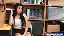 Teenie Asian Shoplyfter Teen Strip Searched and smashed Vorschaubild