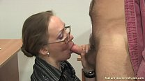 Image: Russian mature teacher 12 - Elena (anathomy lesson)